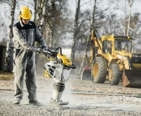 The Atlas Copco rammer LT6005 application picture