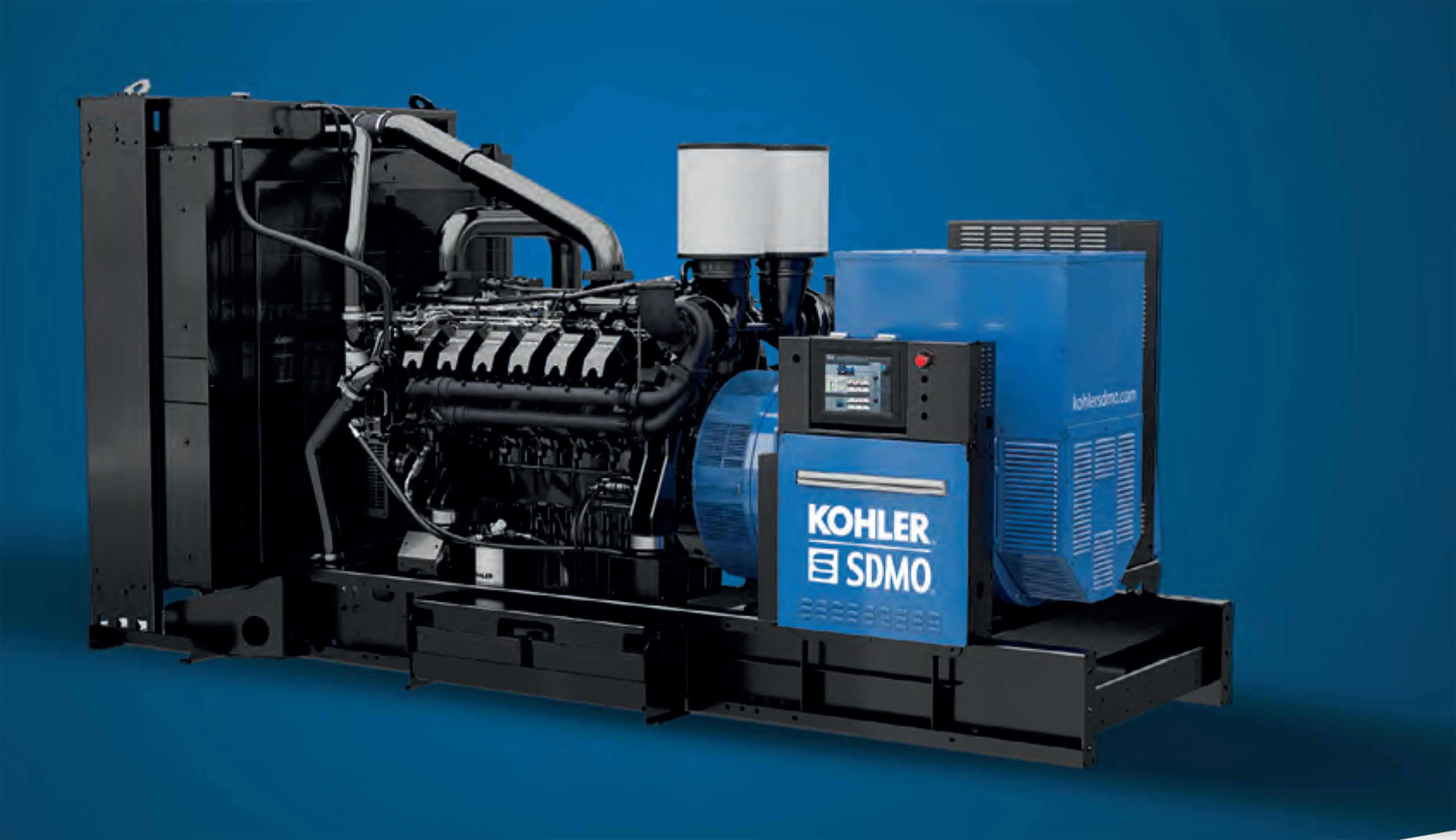 KOHLER-SDMO NEW GENERATION KOHLER ENGINES DEDICATED TO HIGH POWER ...