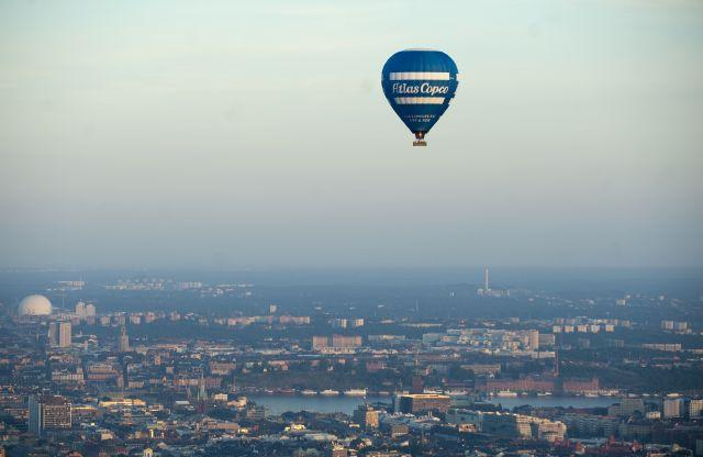Atlas Copco balloon in Stockholm June 2011