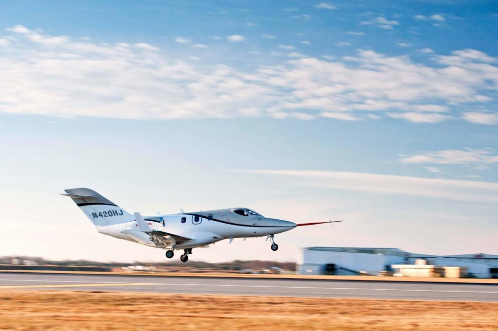 The first FAA-conforming HondaJet took to the sky on December 20, 2010, at Honda Aircraft Company's world headquarters facility in Greensboro, North Carolina.