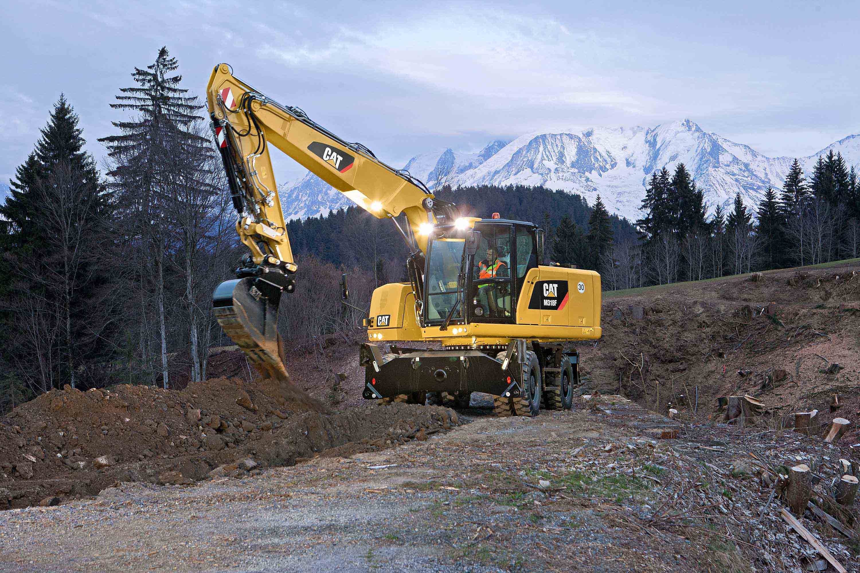 Cat F Series Wheel Excavators And Wheel Material Handlers