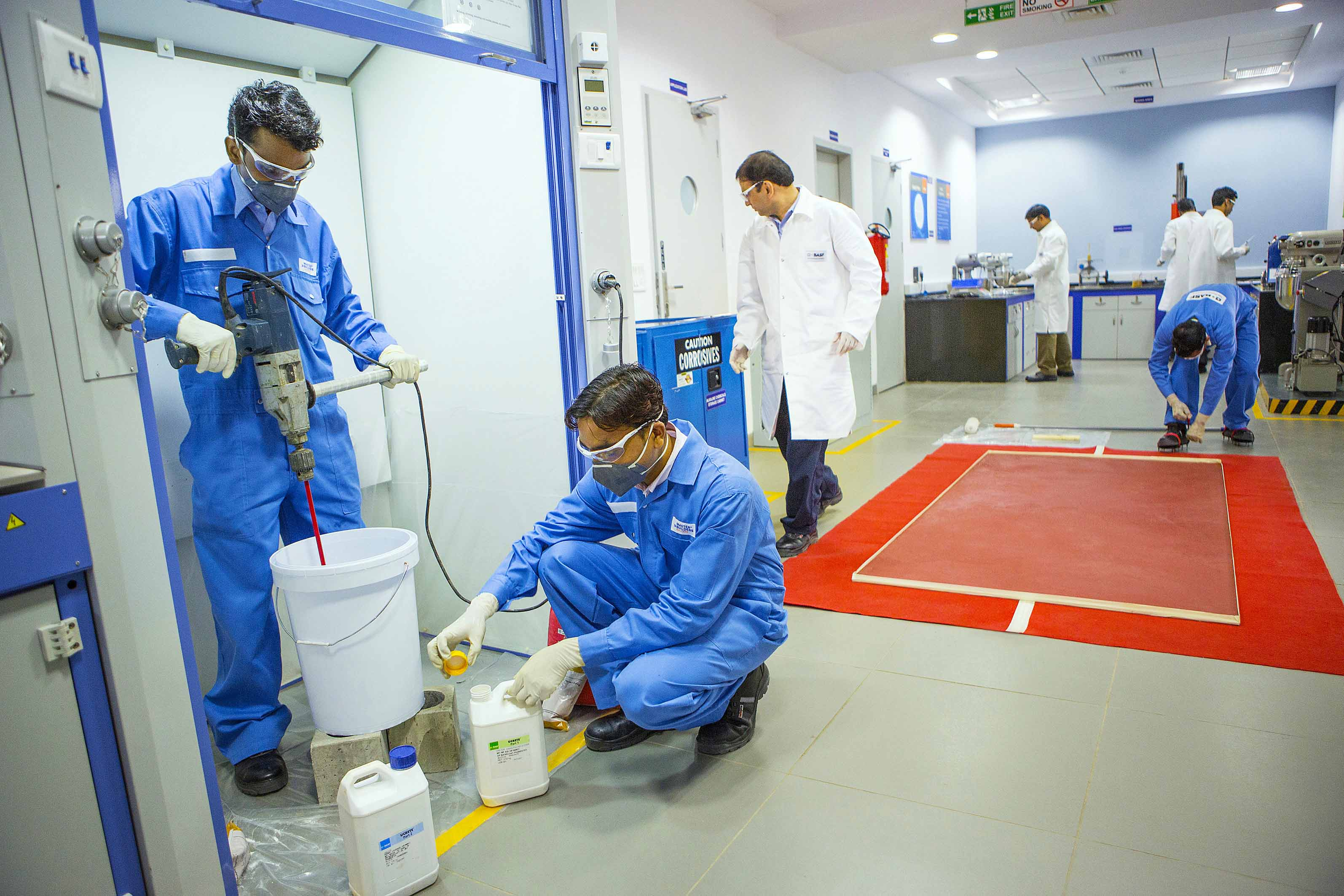 BASF LAUNCHES UCRETE® MF40AS INDUSTRIAL FLOORING SYSTEM ON